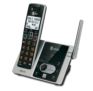 Cordless wall mount telephone systems